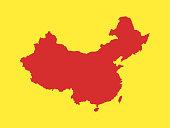 istock Map of China 1204152717