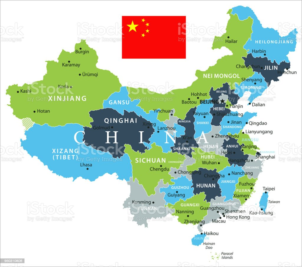 Map of china vector stock vector art more images of asia 950310806 map of china vector royalty free map of china vector stock vector art amp gumiabroncs Gallery