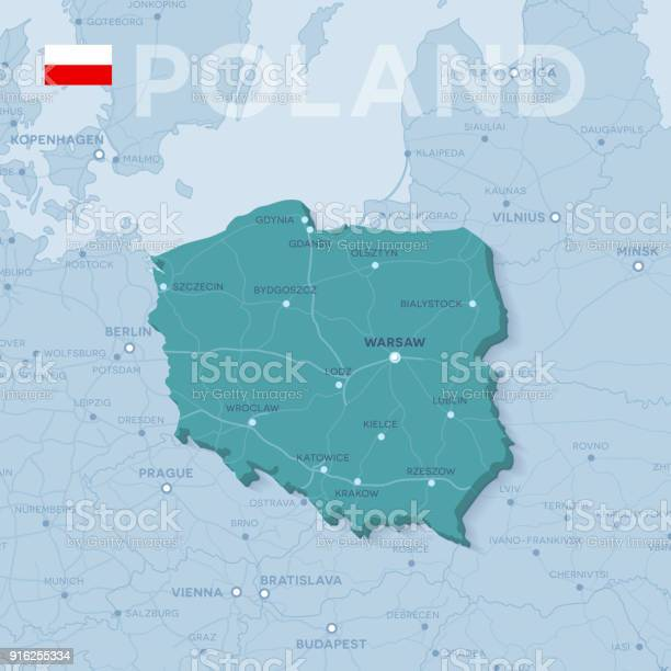 Poland Map Free Vector Art 12 560 Free Downloads