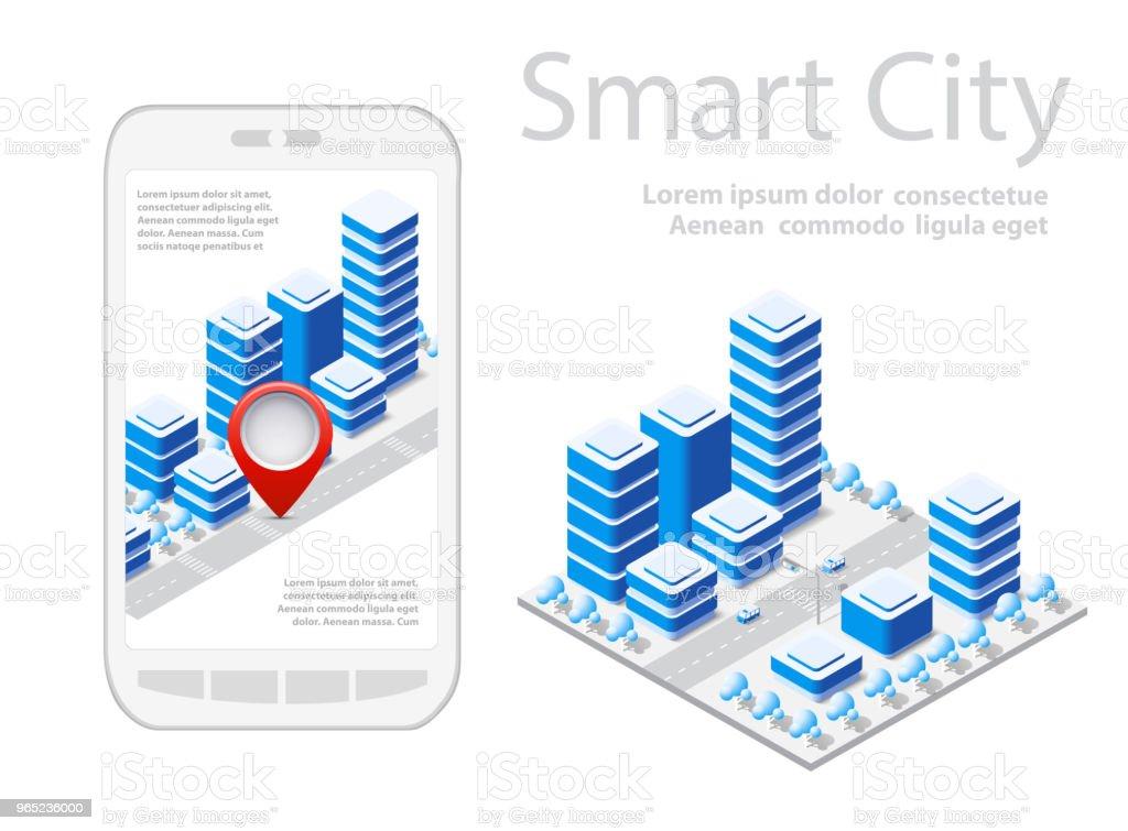 Map Of City On White Design - Stockowe grafiki wektorowe i więcej obrazów Architektura