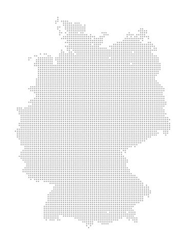 Map of Dots - Germany
