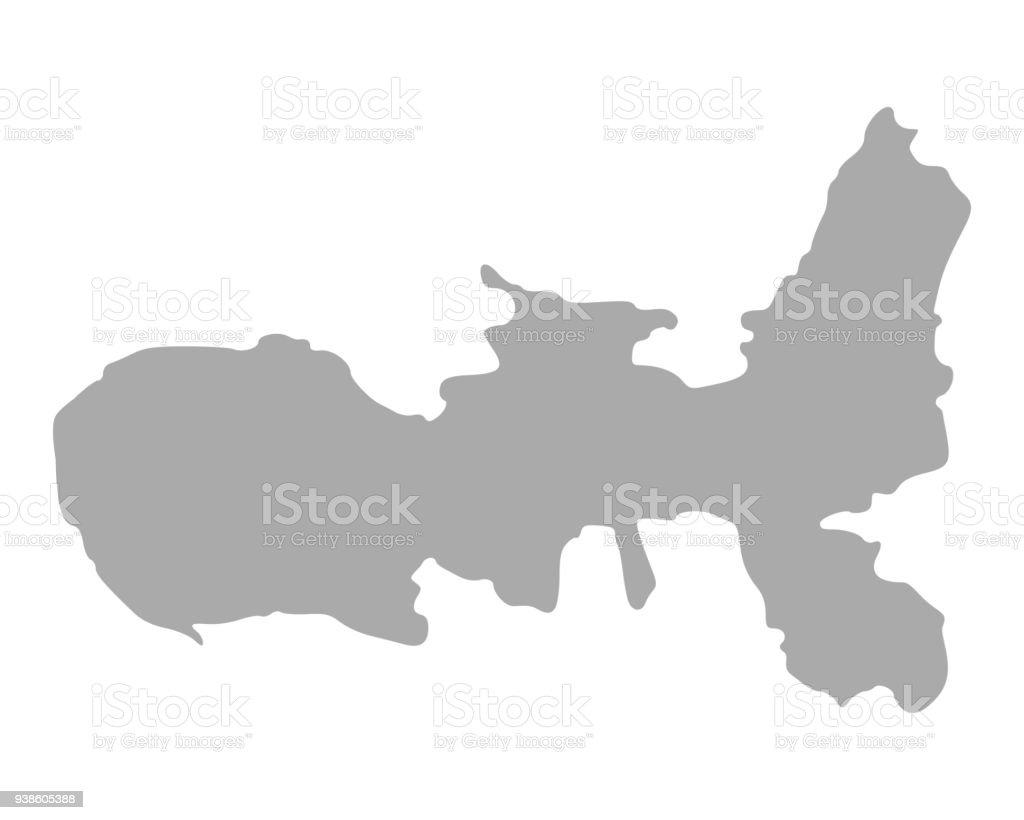 Insel Elba Karte.Karte Der Insel Elba Stock Vektor Art Und Mehr Bilder Von