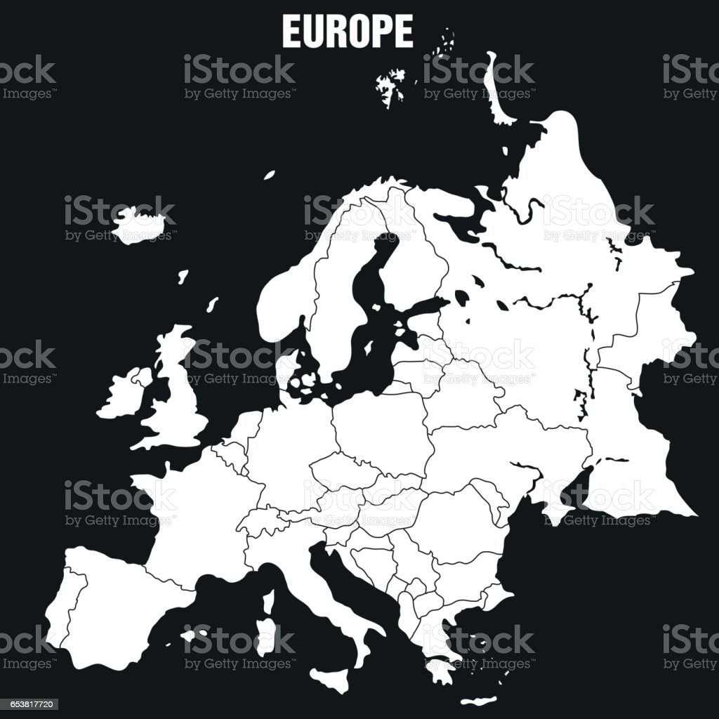 map of europe illustration stock vector art more images of armenia Just Map of Turkey Country india map armenia country austria belarus