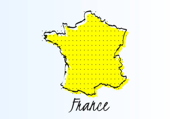 Carte France Vectoriels et illustrations libres de droits ...