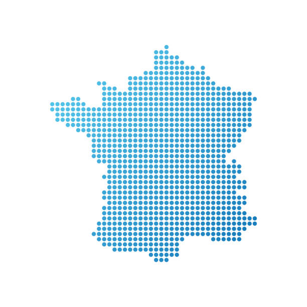 illustrations, cliparts, dessins animés et icônes de carte de france - carte de france