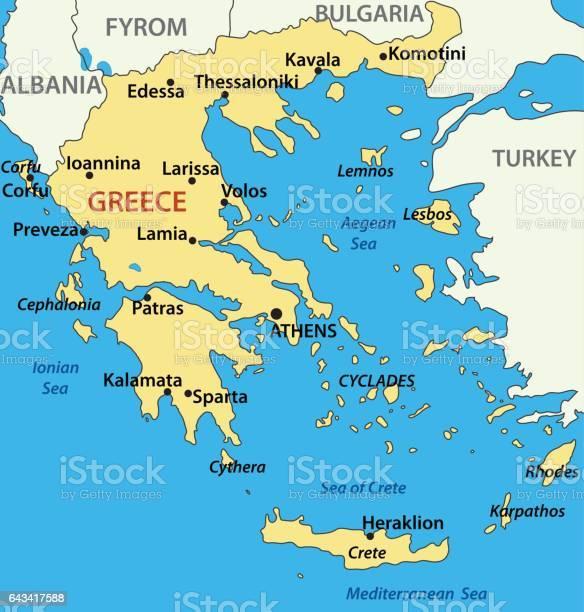 Map Greece Free Vector Art - (34 Free Downloads)