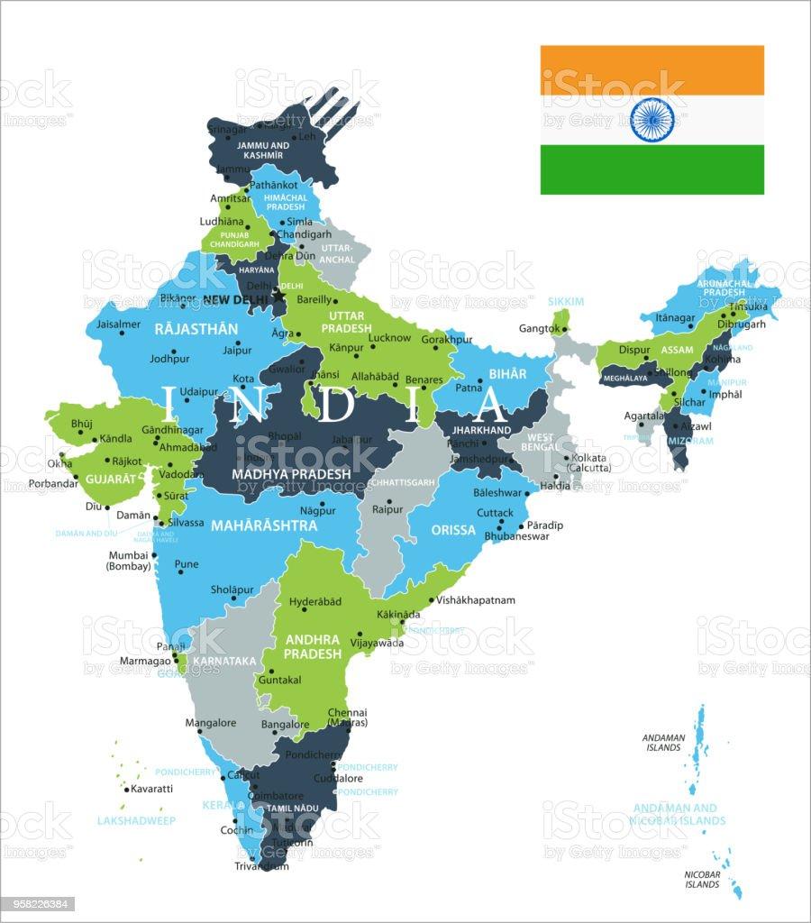 Carte Inde Ahmedabad.Carte De Linde Vecteur Vecteurs Libres De Droits Et Plus D