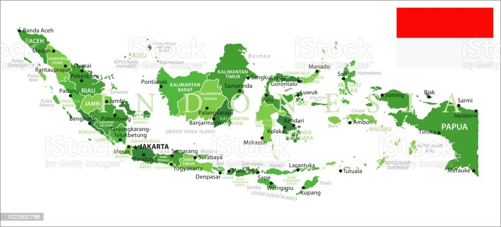 Map of indonesia infographic vector stock vector art more images flag globe navigational equipment indonesian flag map world map gumiabroncs Image collections