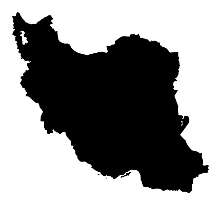 Vector of highly detailed map of Iran  - The url of the reference files is : http://www.lib.utexas.edu/maps/middle_east_and_asia/iran_pol01.jpg