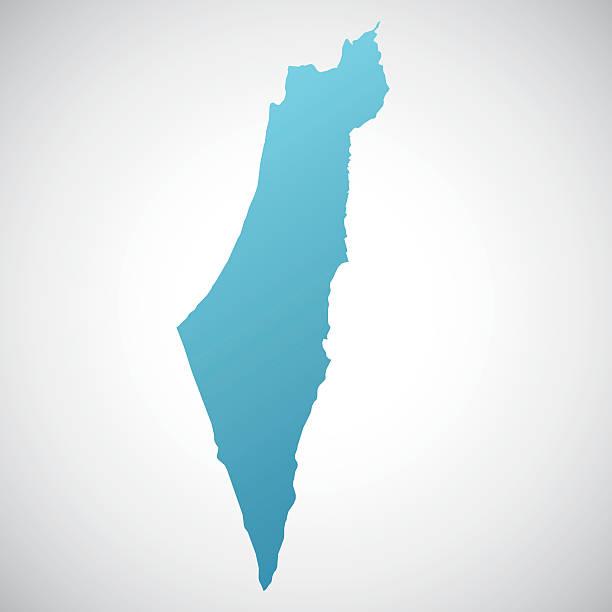ilustrações, clipart, desenhos animados e ícones de mapa de israel - israel