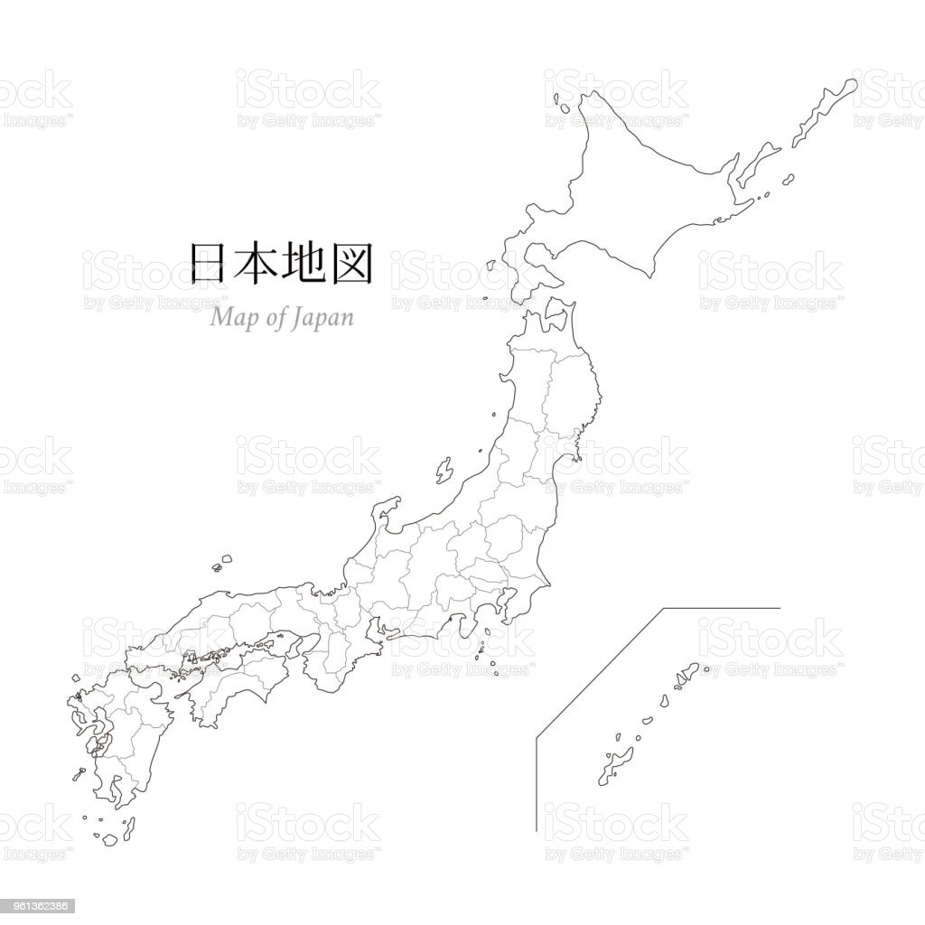 Jungle Maps Map Of Japan Blank