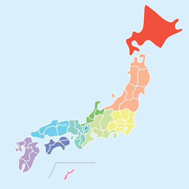 map 日本の - 日本 地図点のイラスト素材/クリップアート素材/マンガ素材/アイコン素材