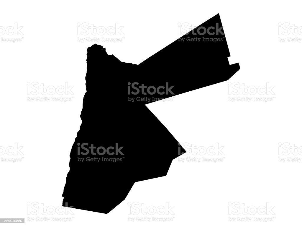 Map Of Jordan Stock Vector Art 869049880 Istock