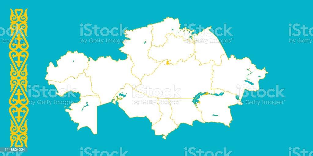 Map Of Kazakhstan Stock Illustration - Download Image Now - iStock Kazakhstan World Map on morocco world map, algeria world map, panama world map, mongolia world map, india world map, pakistan world map, ukraine world map, brazil world map, caucasus mountains world map, manchuria world map, korea world map, uzbekistan world map, thailand world map, kosovo world map, new guinea world map, burma world map, nepal world map, sierra leone world map, romania world map, poland world map,