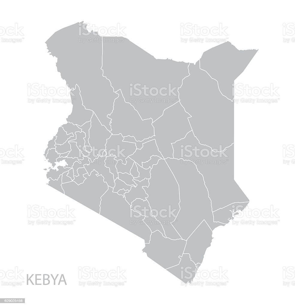 background of a kenya map outline clip art, vector images