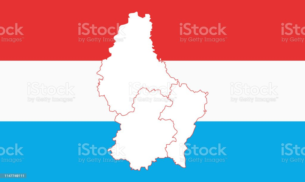 Map Of Luxembourg Stock Illustration Download Image Now Istock