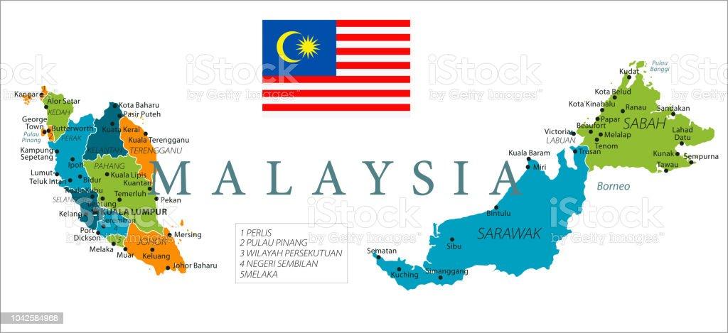Map Of Malaysia Vector Stock Illustration - Download Image ... Malaysia Map on thailand map, selangor map, pacific islands map, holland map, china map, armenia map, iran map, phillipines map, united kingdom map, japan map, sarawak map, chile map, singapore on map, world map, ukraine map, ireland map, europe map, kota kinabalu map, yemen map, australia map, cyprus map, french polynesia map, georgia map,