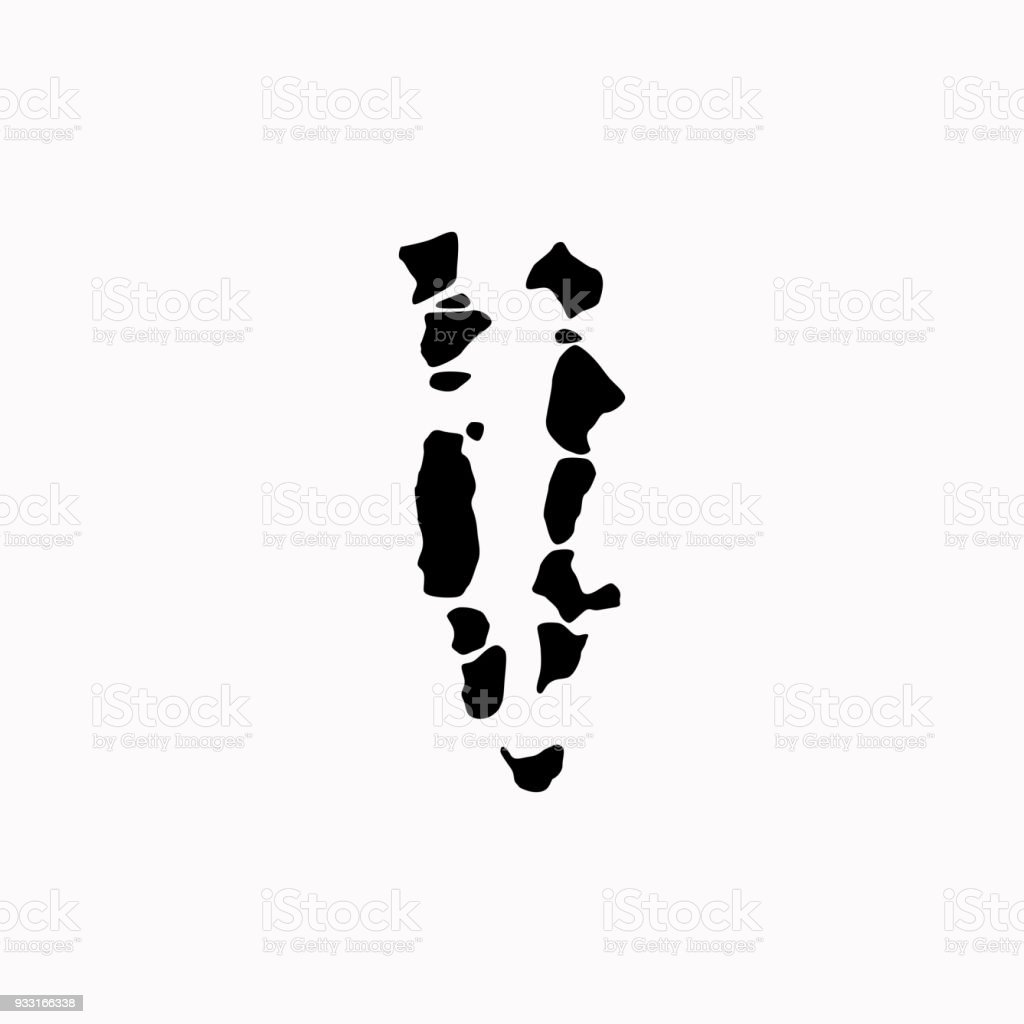 Map Of Maldives Vector Icon Stock Vector Art & More Images of Black ...