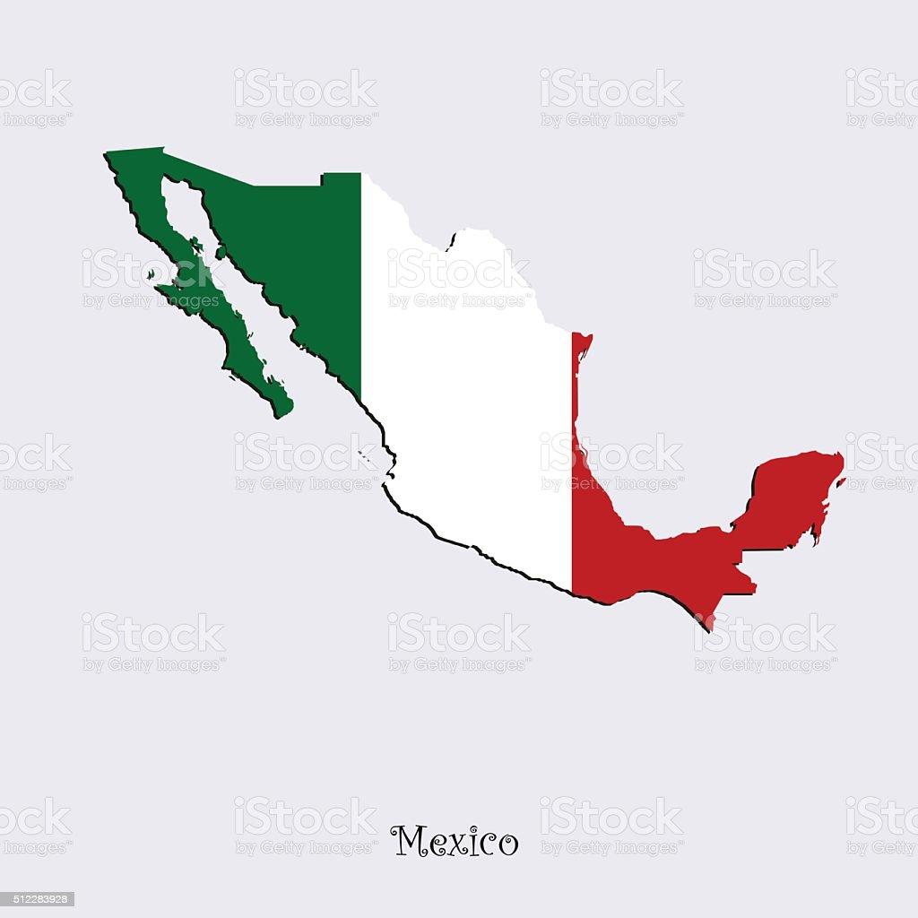 Mapa De México Para Su Diseño Arte Vectorial De Stock Y Más - Mapa de mexico