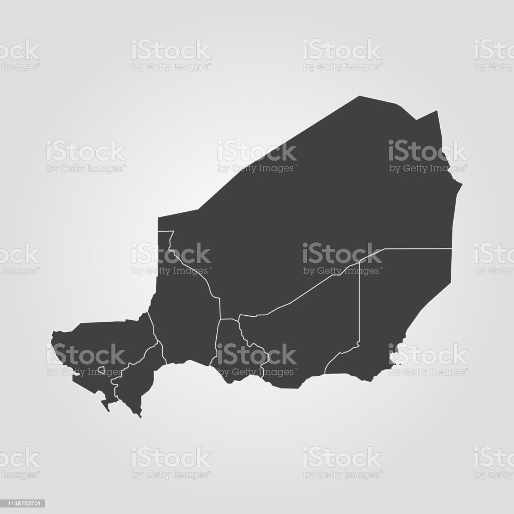 Picture of: Map Of Niger Stock Illustration Download Image Now Istock