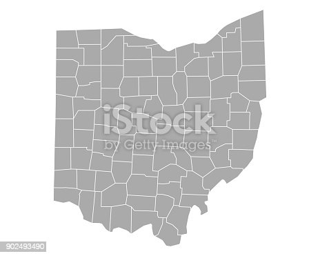 Map of Ohio