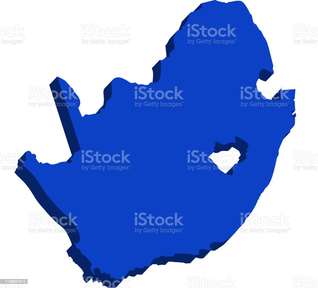 3d Map Of South Australia.3d Map Of South Africa Stock Illustration Download Image Now Istock