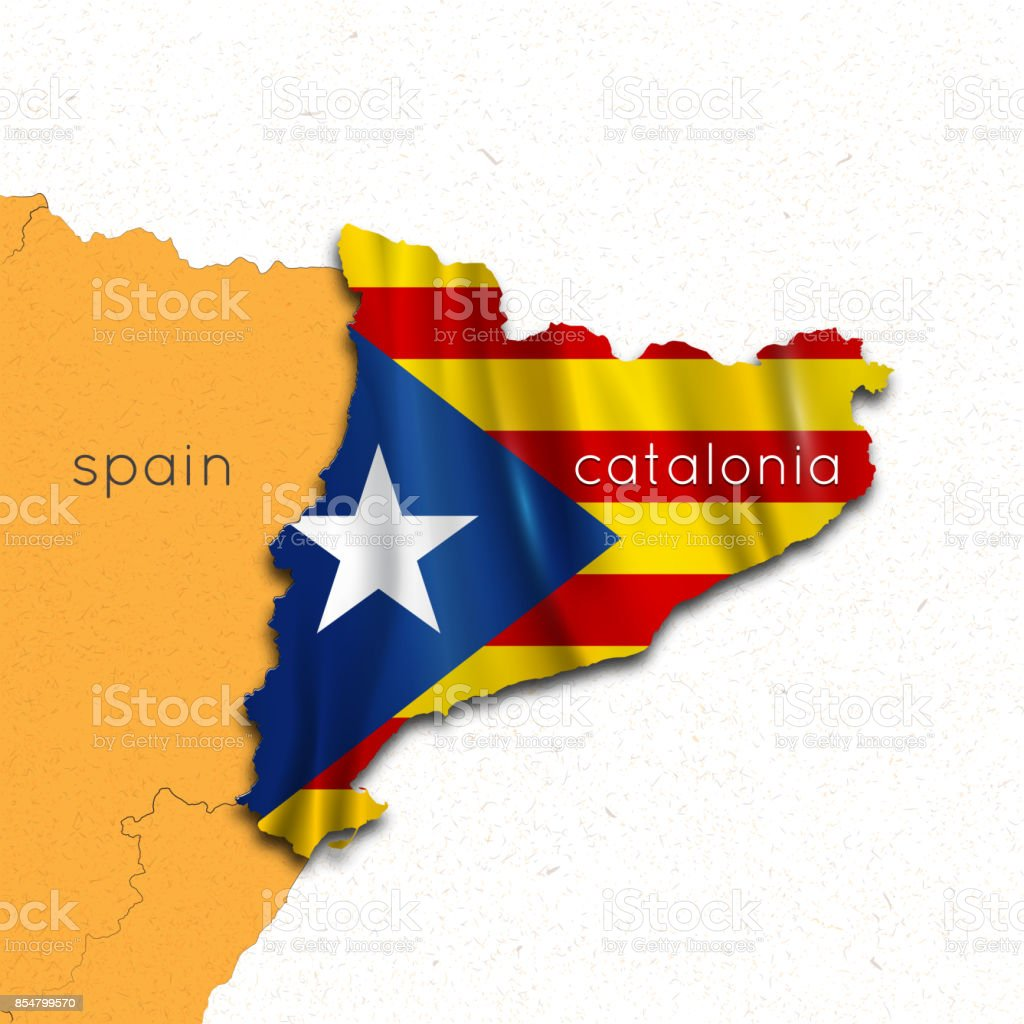 Map Of Spain And Catalonia Region Of Catalonia The Referendum On The