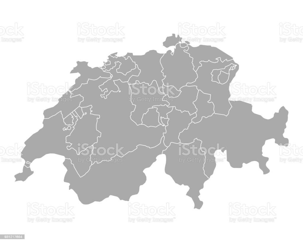 Karte der Schweiz Lizenzfreies karte der schweiz stock vektor art und mehr bilder von bildhintergrund