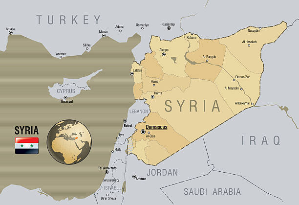 Top 60 Syria Clip Art, Vector Graphics and Illustrations - iStock Calip Isis Map on