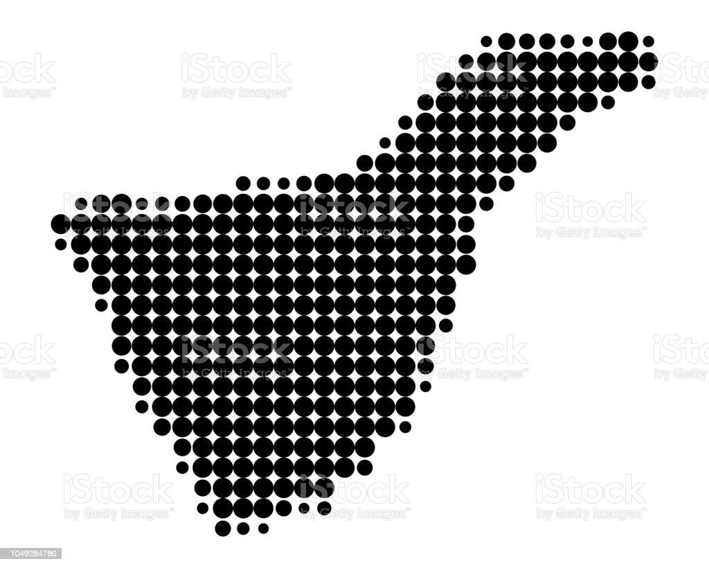 Karte Von Teneriffa.Karte Von Teneriffa Stock Vektor Art Und Mehr Bilder Von Deutschland