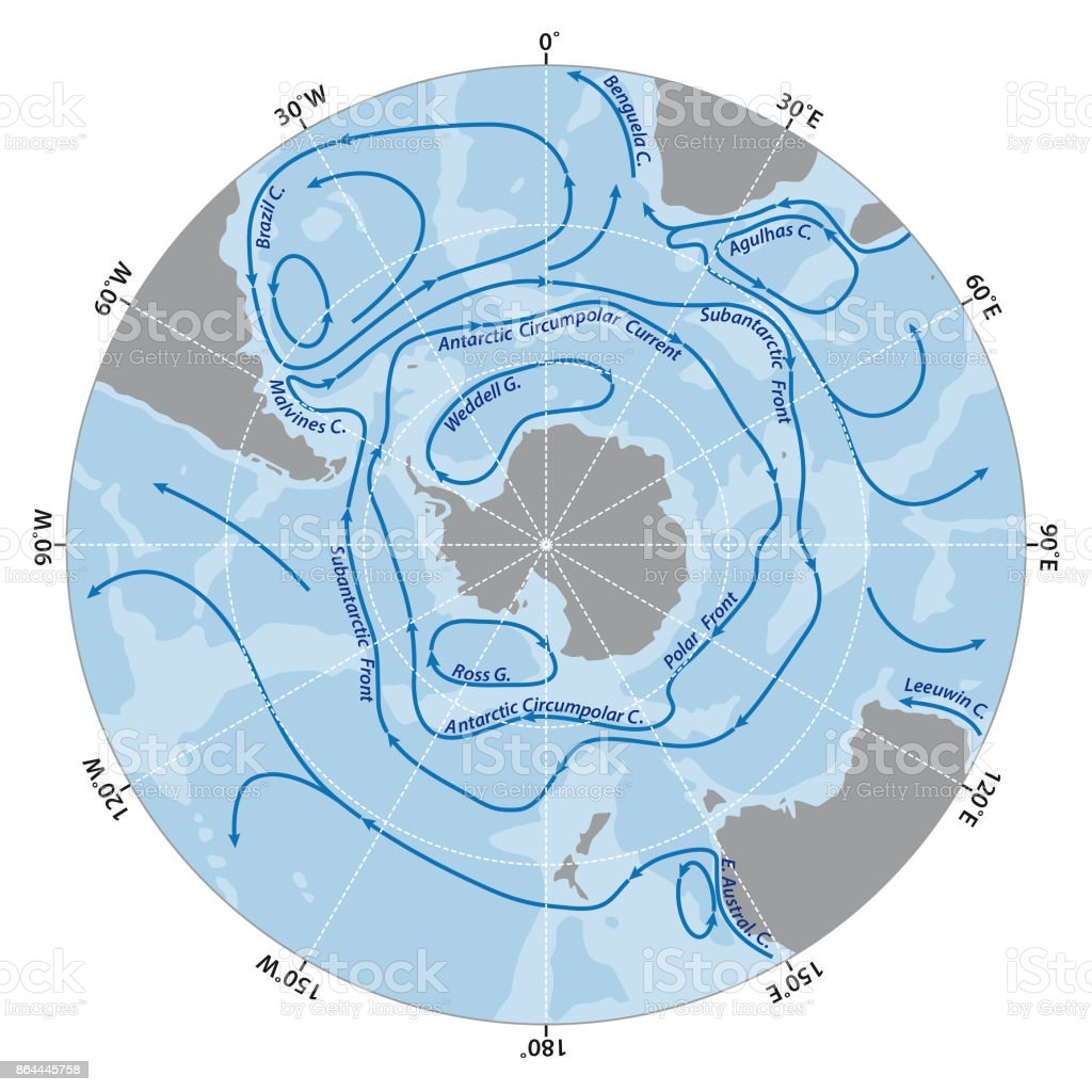 Map Of The Antarctic With The New Sea Protection Area In The Ross ...