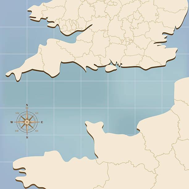 イギリス海峡 イラスト素材 - iStock