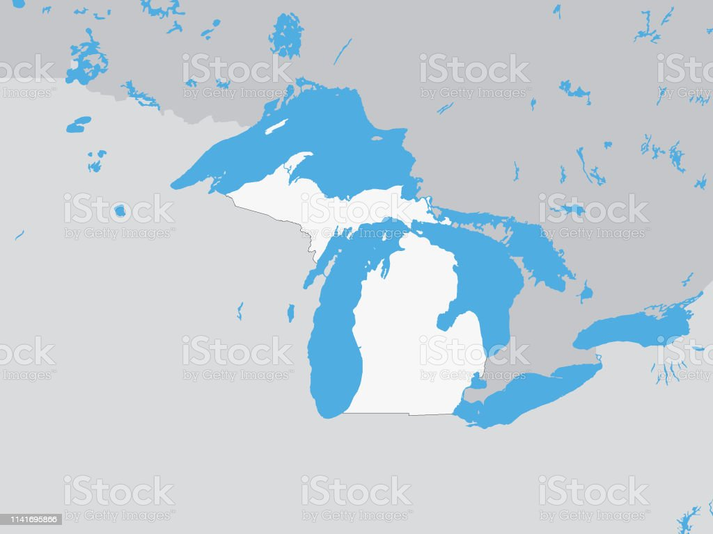 Download Michigan Kaart