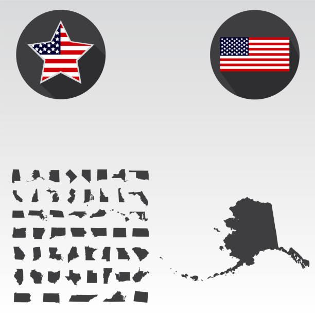 Vectores de Alaska y Illustraciones Libre de Derechos - iStock