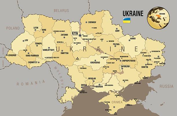 map of ukraine - 烏克蘭 幅插畫檔、美工圖案、卡通及圖標