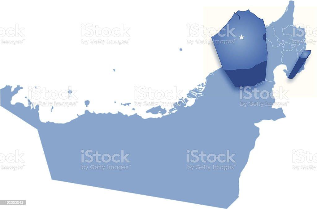 Cartina Geografica Di Dubai.Mappa Di Dubai Emirati Arabi Uniti Dove E Ritratta Immagini Vettoriali Stock E Altre Immagini Di Abu Dhabi Istock