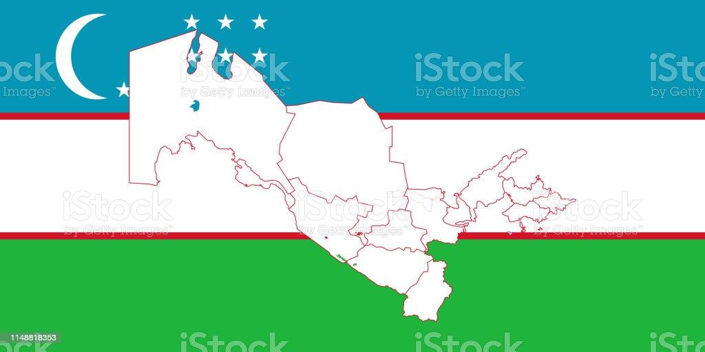 Usbekistan Karte.Karte Usbekistan Stock Vektor Art Und Mehr Bilder Von Abstrakt Istock