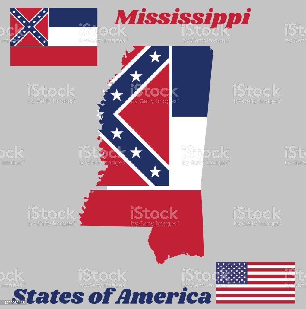 bandera do franjas horizontales blanco garzo y rojo