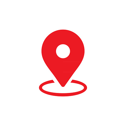 map pin icon for your web site and mobile app