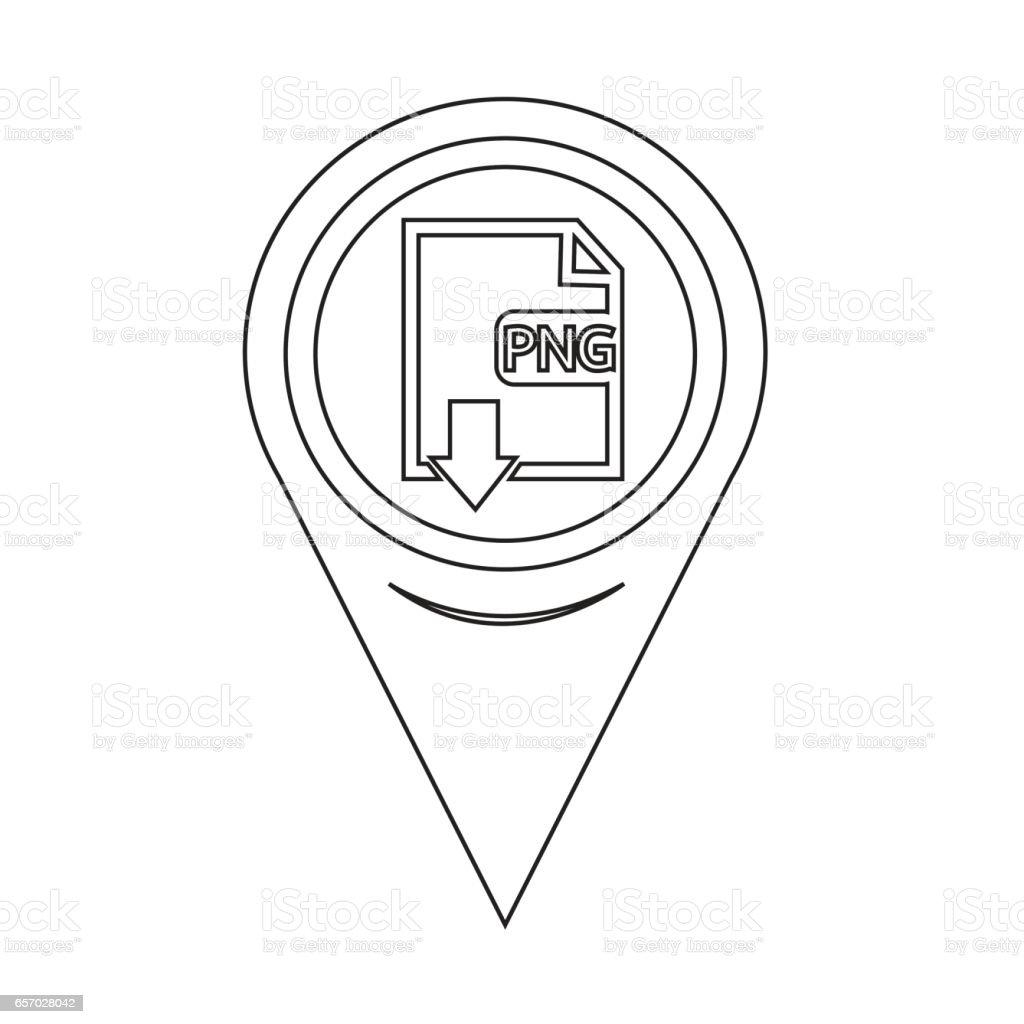 Karta Pin Pekaren Fil Typ Png Ikon Vektorgrafik Och Fler Bilder Pa