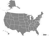istock USA map states blank printable 1251141725