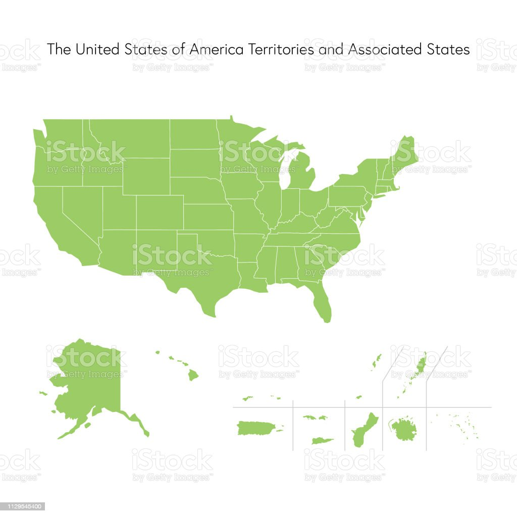Usa Map Stock Illustration - Download Image Now