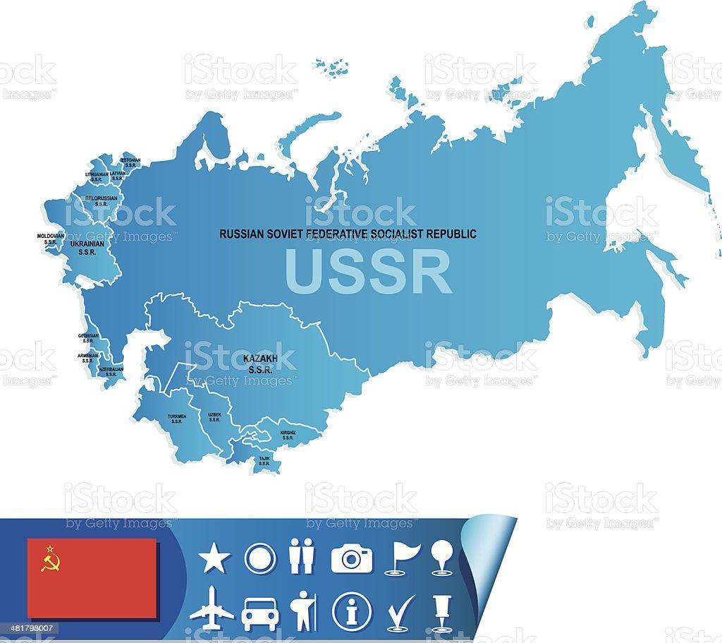 Carte Urss.Urss Carte Vecteurs Libres De Droits Et Plus D Images Vectorielles