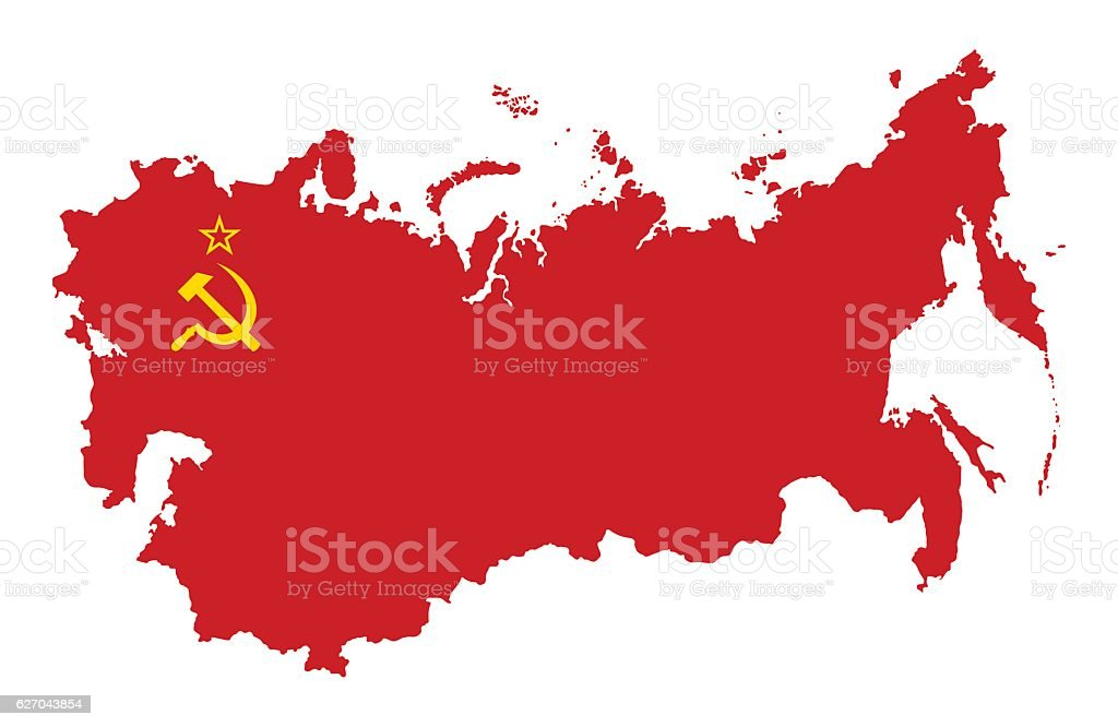 Ussr Map Clip Art - #1 Clip Art & Vector Site •