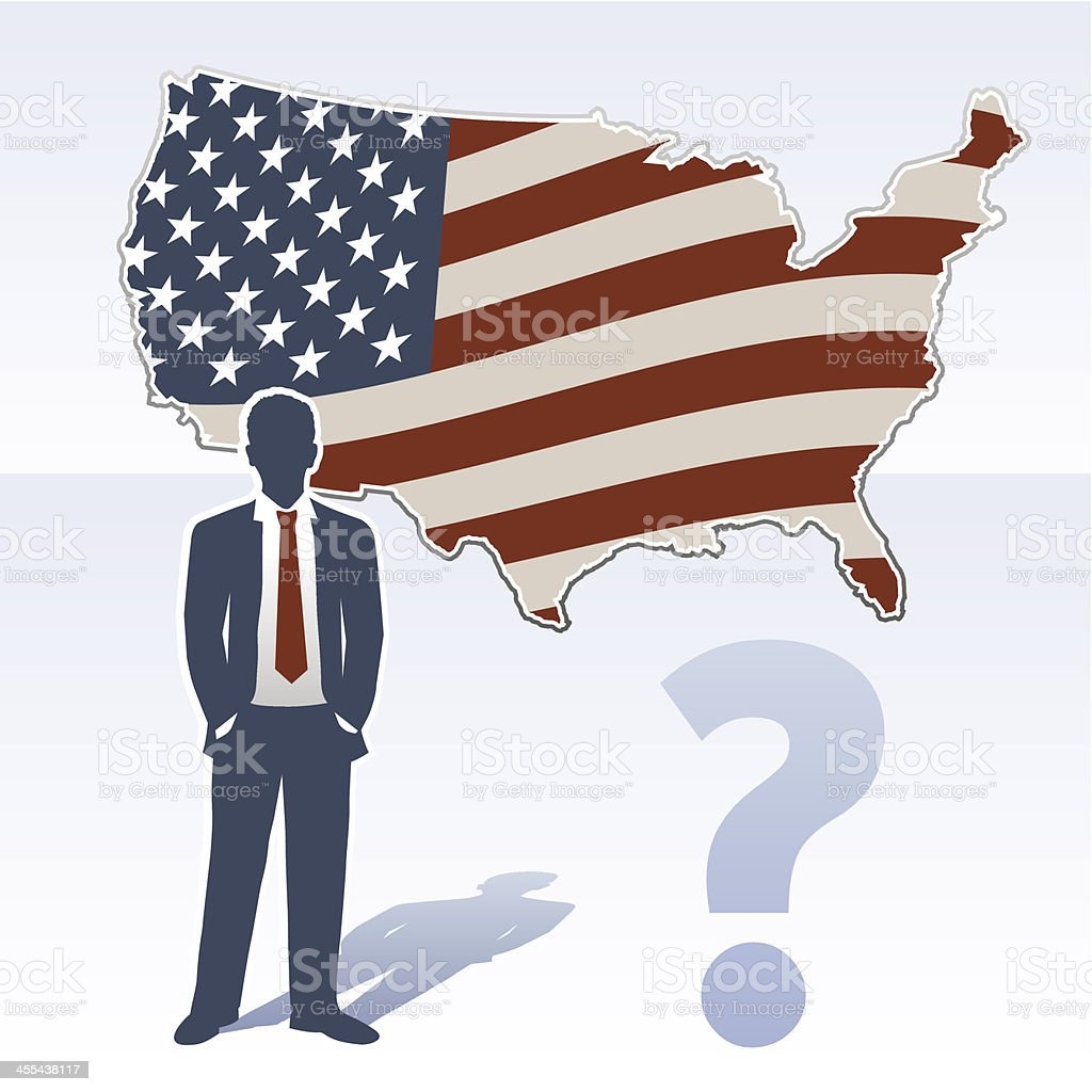 Usa Map With Business Man And Question Mark Stock ... Man In The Us Map on printable labeled united states map, man with map, man in america map, the man in the map, usa map, man tracking, man u smap, black population in america map, man united states, mimal on the map, pink map, u.s map, man in the mississippi, man island england, the man on the map, douglas isle of man map, iom map, man in trunk, dude in the map, syria map,