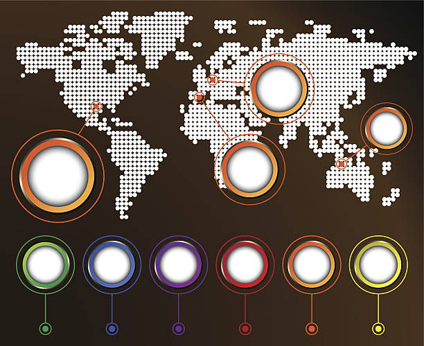 ilustrações de stock, clip art, desenhos animados e ícones de mapa do mundo - mapa mundi