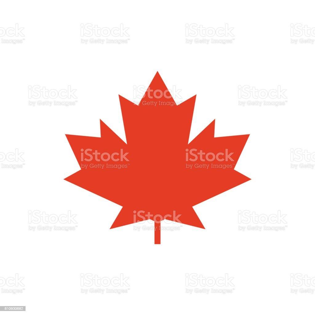 Maple leaf vector icon. Symbol of Canada Maple leaf vector icon. Symbol of CanadaMaple leaf vector icon. Symbol of Canada Badge stock vector