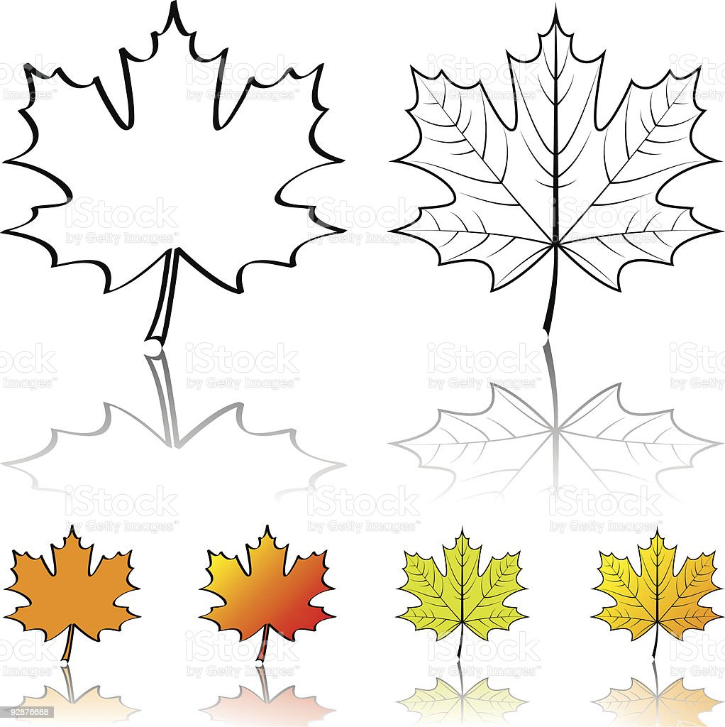 Maple leaf royalty-free maple leaf stock vector art & more images of abstract