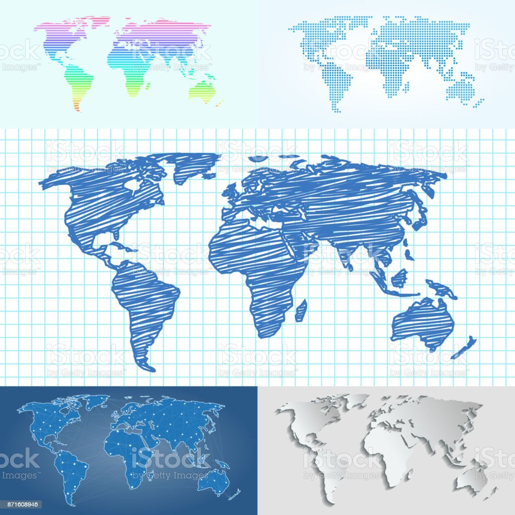 Maps globe earth contour outline silhouette world mapping maps globe earth contour outline silhouette world mapping cartography texture vector illustration royalty free maps gumiabroncs Images