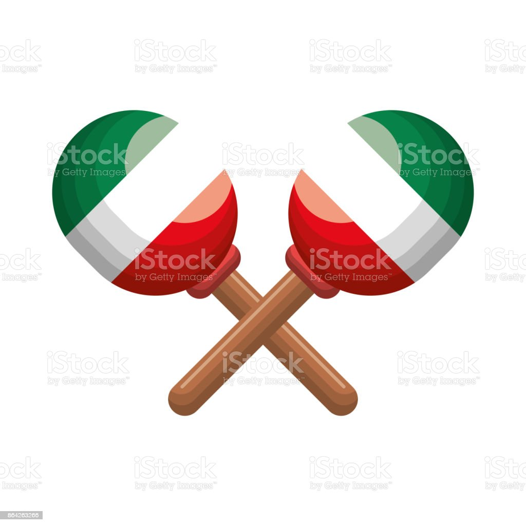 maraca music mexican icon graphic royalty-free maraca music mexican icon graphic stock vector art & more images of art